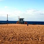 road trip across america santa monica beach