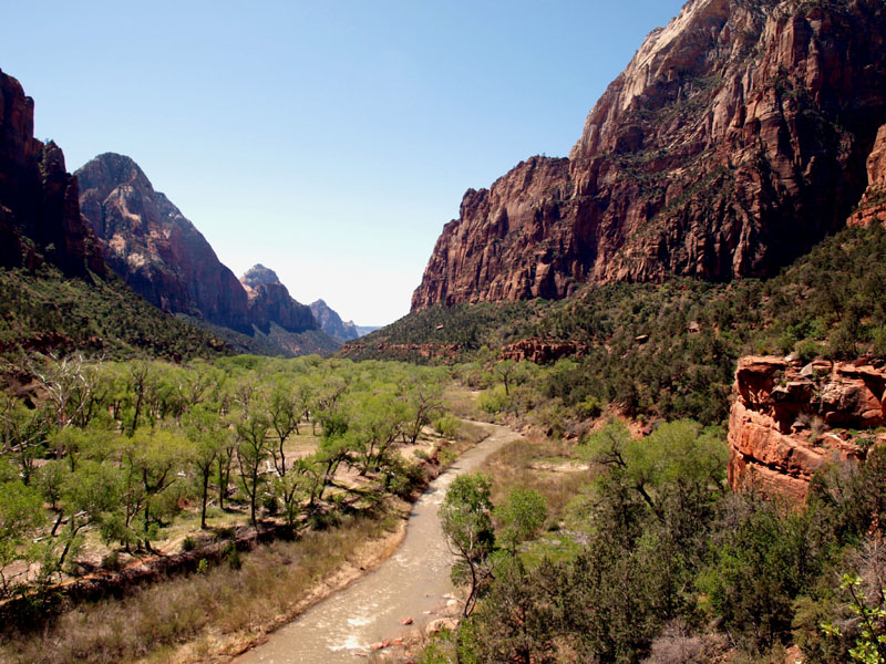 most beautiful national parks zion southwest usa road trip